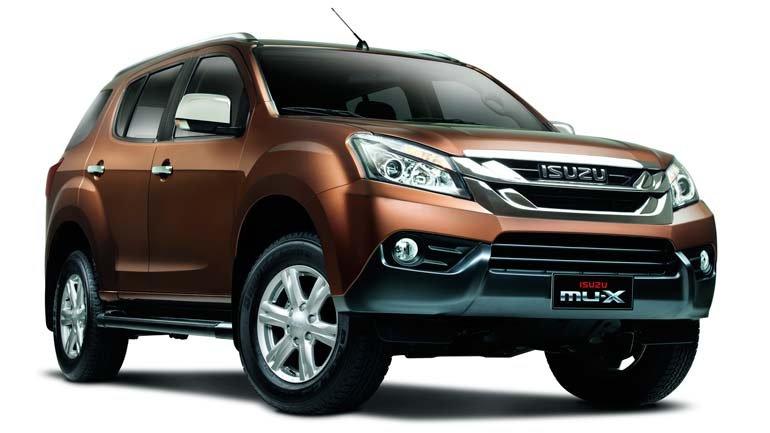 Улучшенный вседорожный автомобиль Isuzu MU-X поступил в реализацию в КНР