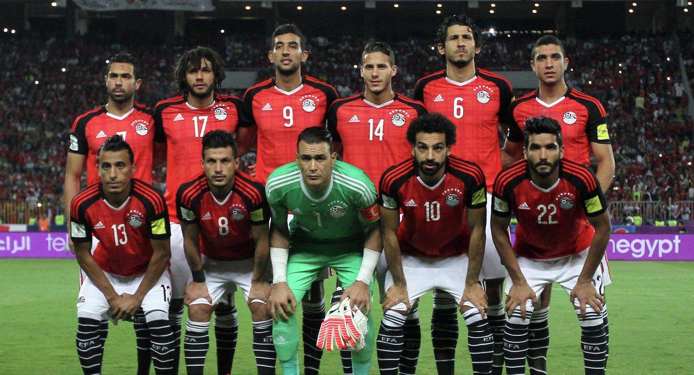 Футболисты Египта планируют выйти изгруппы начемпионате мира