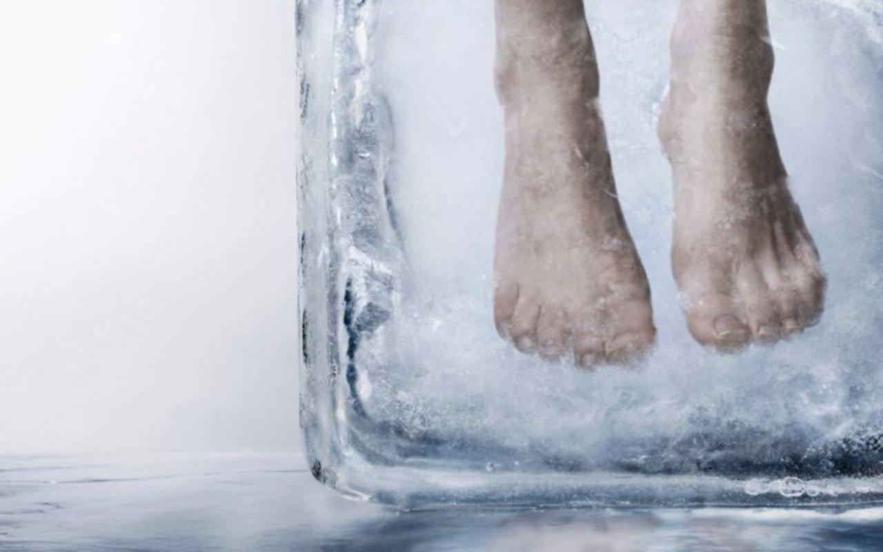 Многодетную семью изсоедененных штатов заморозят вжидком азоте