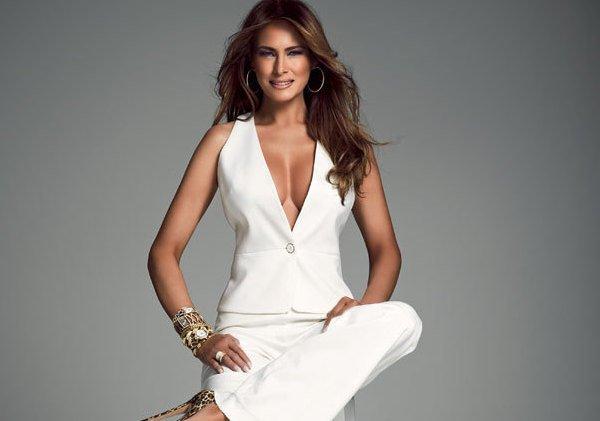 Эксперты выбрали самые безумные наряды жены Дональда Трампа