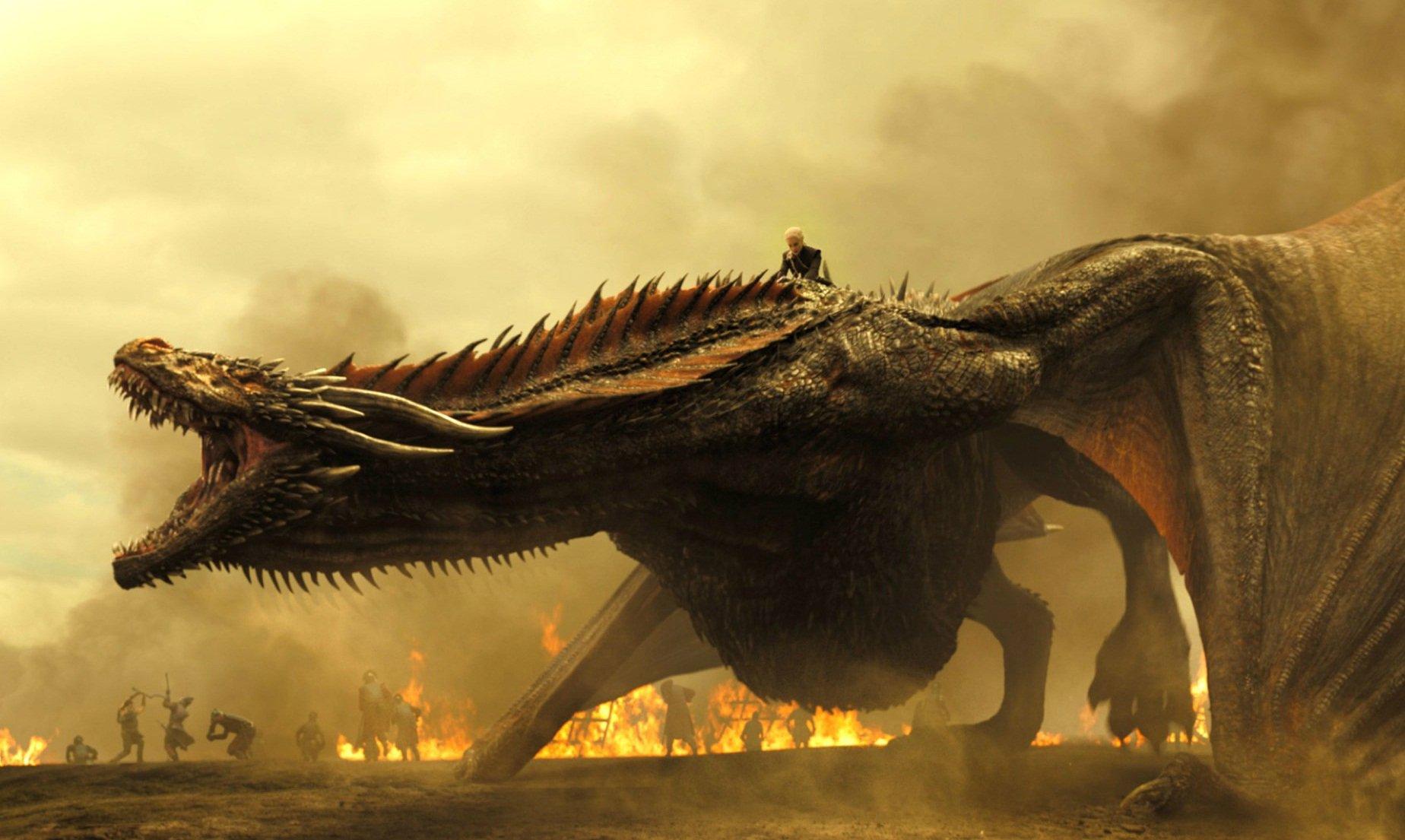 Дракона из«Игры престолов» озвучили стонами занимающейся сексом черепахи