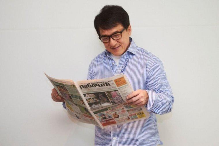Граждане Копейска получили новогодний подарок отДжеки Чана