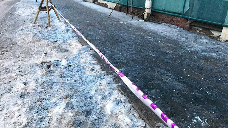 Синий снег вПетербурге оказался нетоксичным