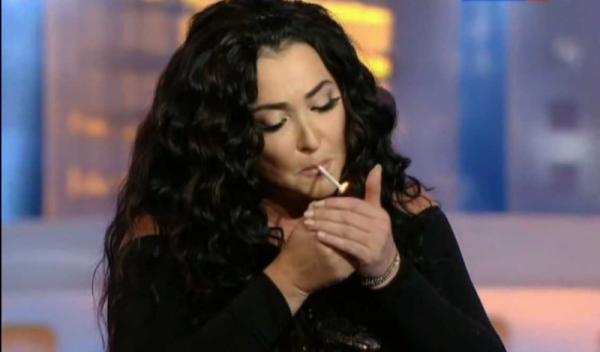 Лолиту раскритиковали за пропаганду курения