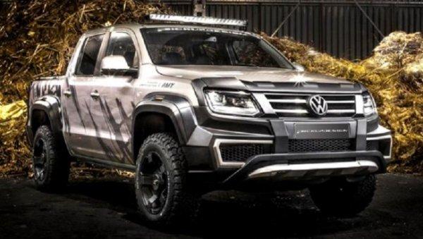 Тюнинг-ателье Carlex Design представило пикап Volkswagen Amarok Amy