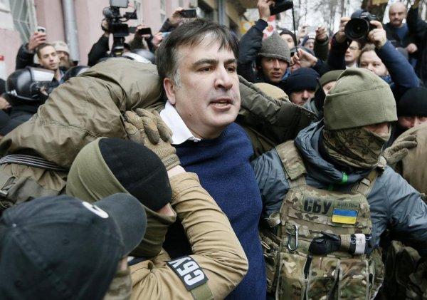 Генеральная прокуратура Украины объявила Михаила Саакашвили в розыск