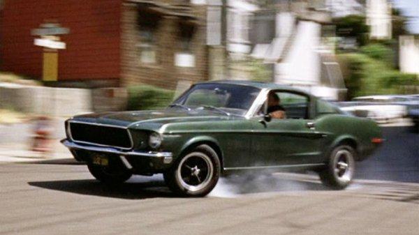 Ford намерена восставить Mustang из знаменитой погони в фильме «Буллитт»