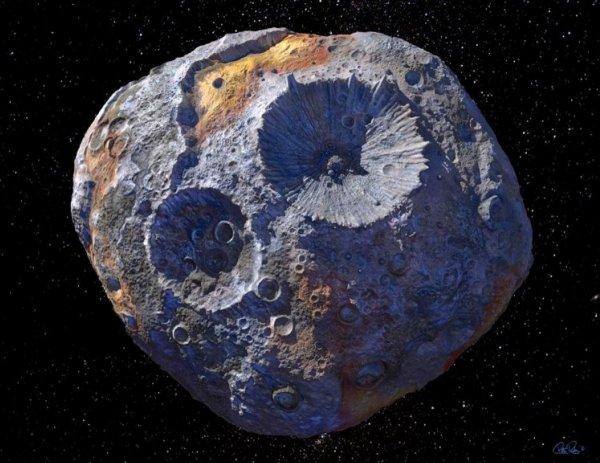 NASA может заработать 10 квадриллионов долларов на полете к самому дорогому астероиду