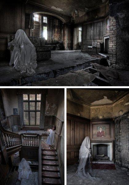 В Йоркшире очевидцы случайно засняли призрак ребенка в заброшенном особняке