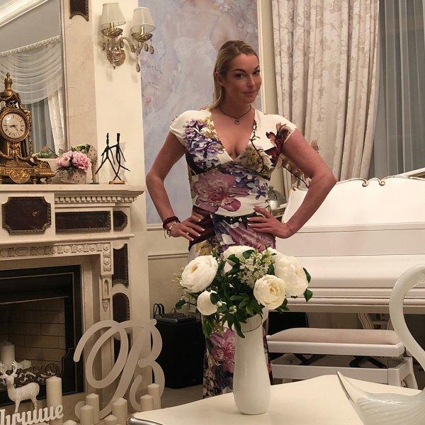 Анастасия Волочкова пожаловалась на пробки в Instagram