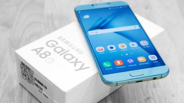 В Сеть попало видео нового продвинутого смартфона Samsung Galaxy A8+