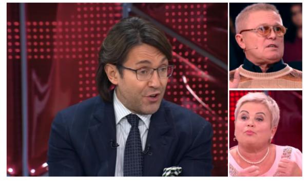 Родители Даны Борисовой поссорились в эфире передачи «Прямой эфир»