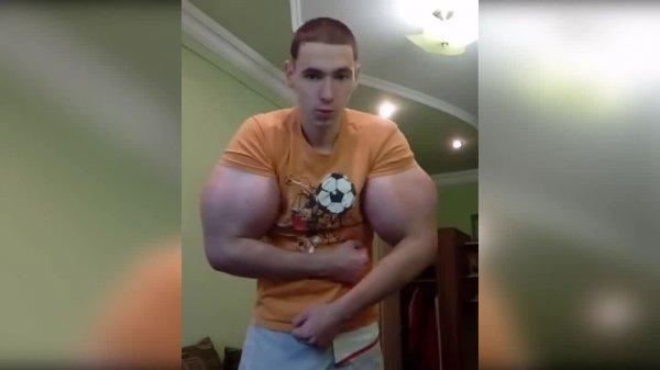 «Руки-базуки» Терешина набирают популярности среди пользователей Интернета