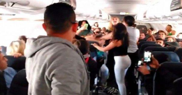Пьяная пассажирка избила стюардессу в самолете Москва – Севастополь