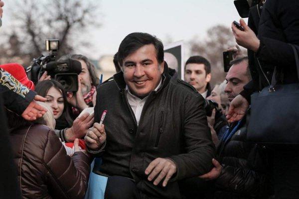В Киеве начался очередной марш соратников Михаила Саакашвили