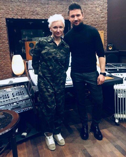 Сергей Лазарев и Диана Арбенина готовят к выходу совместную песню