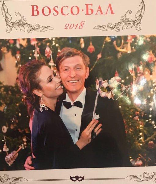 Павел Воля вместе с женой побывали на балу