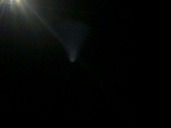 В ЛНР заметили загадочный НЛО