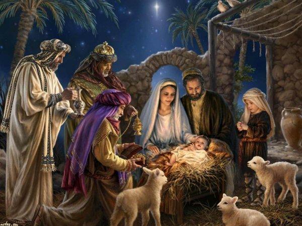 В Брюсселе вандалы похитили фигурку Христа-младенца
