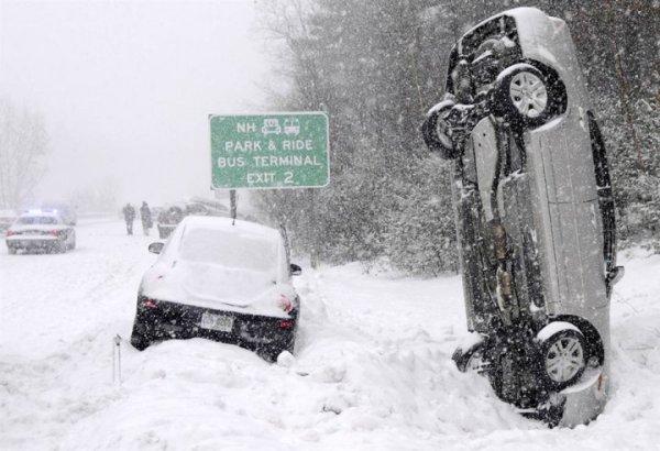 Ледяной дождь в Канаде и снегопад в США: Климатологи заявляют о разгуле стихии