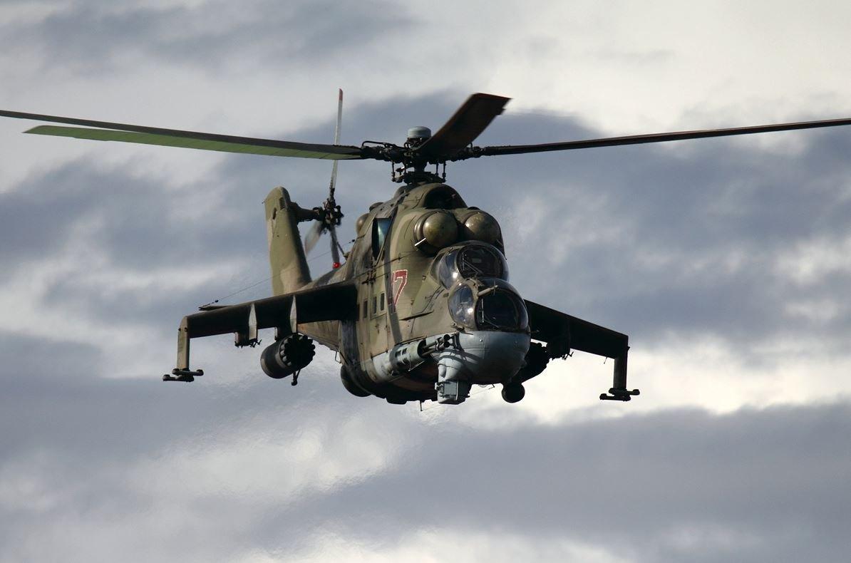 ВСирии разбился русский вертолет Ми-24— стала известна причина крушения