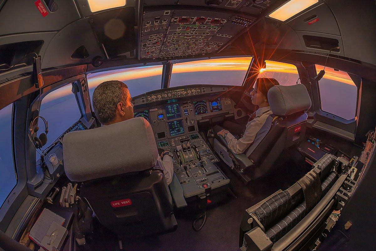 Индийские пилоты подрались вовремя рейса, бросив штурвал
