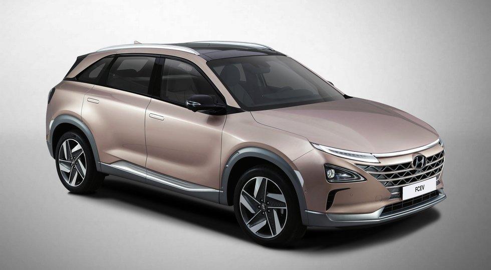 Хендай готовится презентовать собственный новый вседорожный автомобиль, который заменит ix35 Fuel Cell