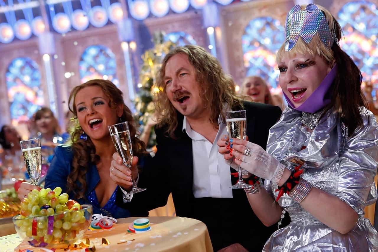 Большинство россиян вновогоднюю ночь смотрели «Россию-1»