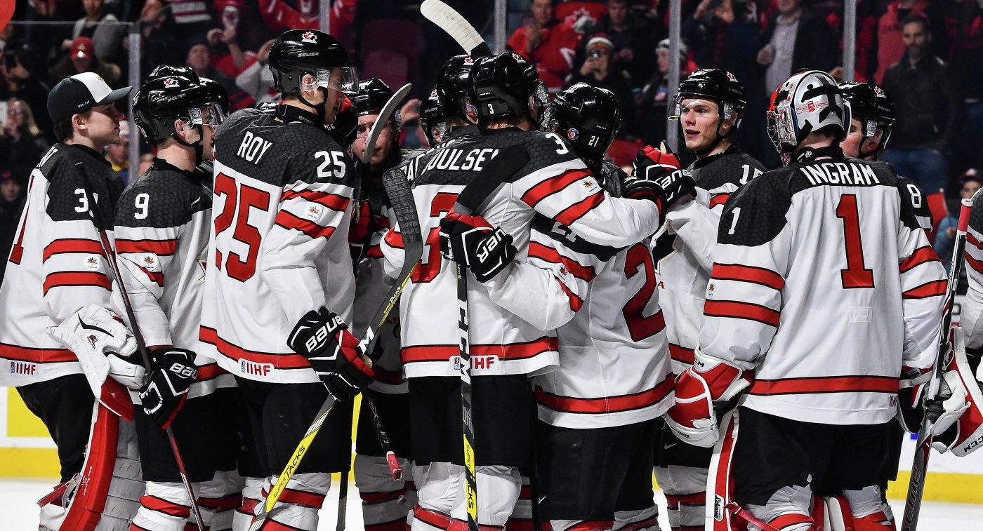 Хоккеисты сборной Швеции обыграли команду США вполуфинале МЧМ вБаффало