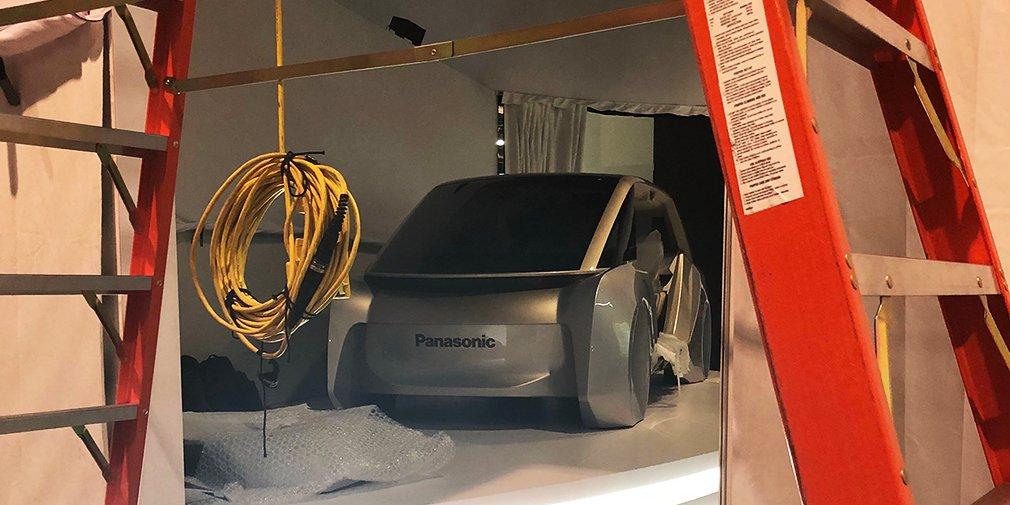 Panasonic представит наCES-2018 концептуальный автомобиль собственной разработки