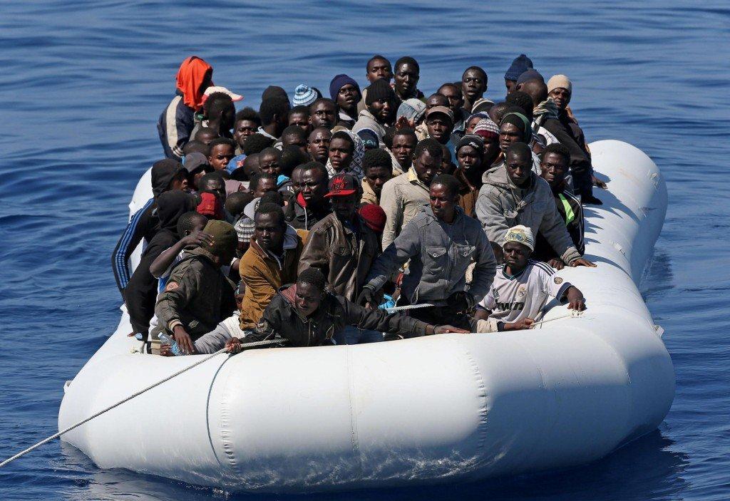 ВСредиземном море зафиксирован 1-ый случай погибели мигрантов в этом году