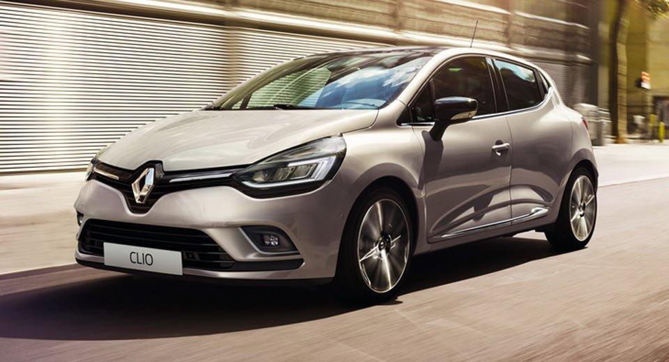 Обновлённый Renault Clio дебютирует на автосалоне в Париже