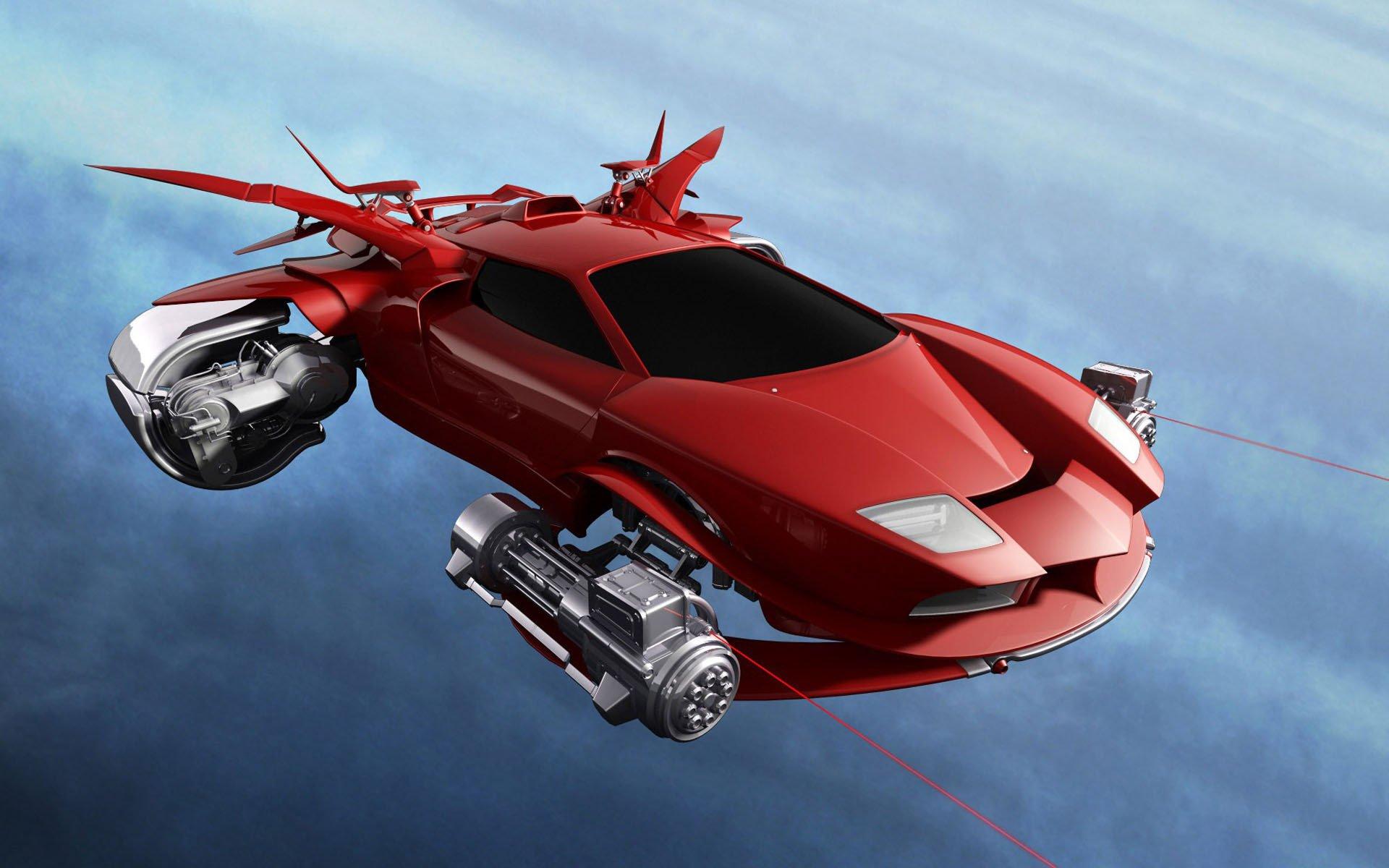 1-ый «летающий автомобиль» в РФ произведут к 2021