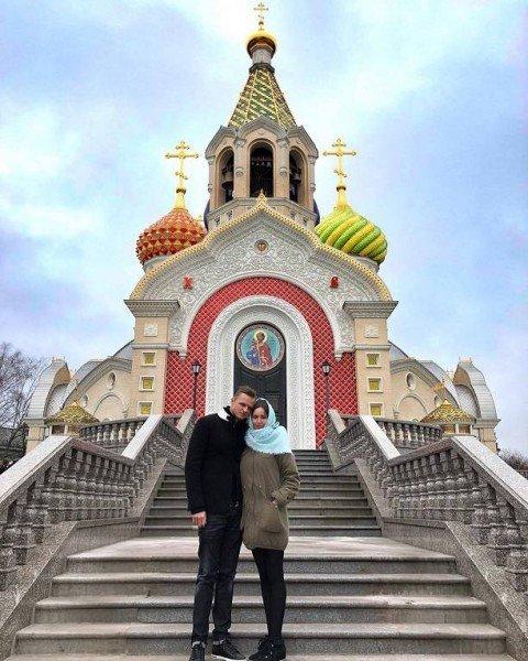 Футболист Дмитрий Тарасов женился намодели Анастасии Костенко