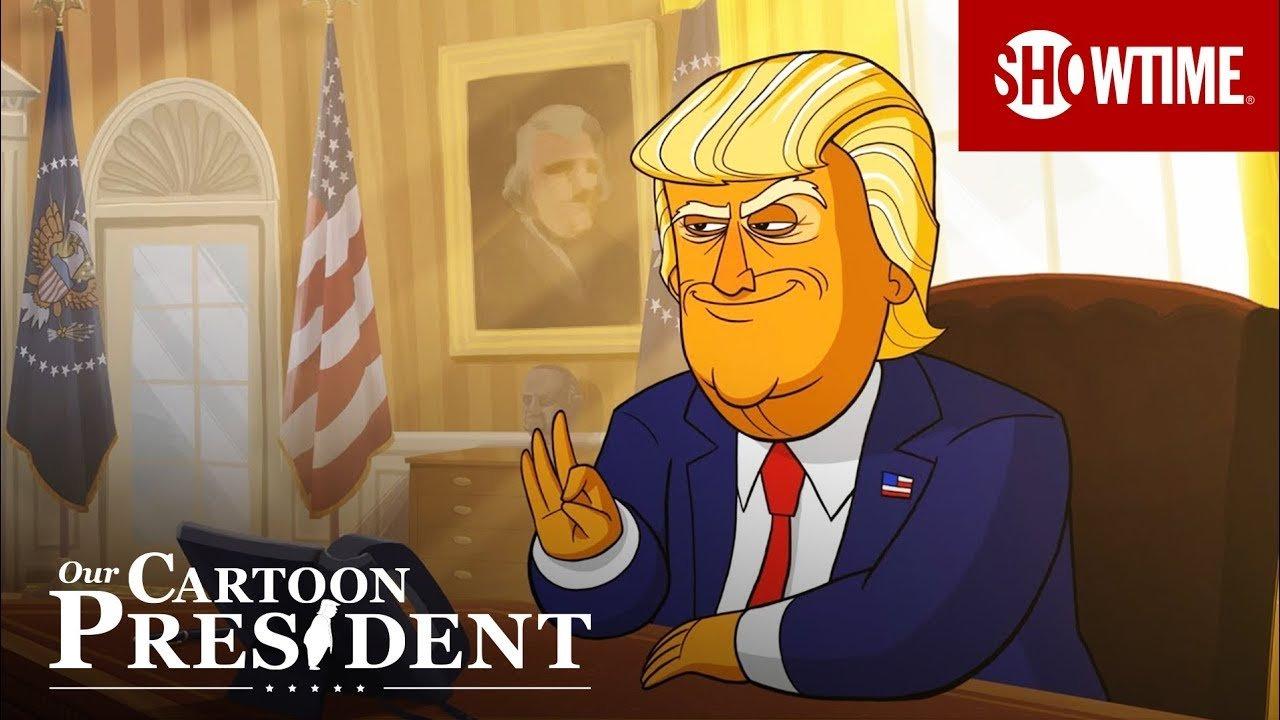 Вweb-сети интернет появился трейлер нового мультсериала оТрампе