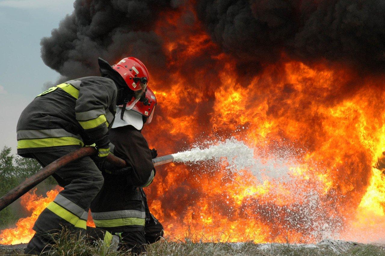 ВИркутской области на100% сгорел пассажирский автобус