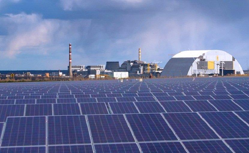 ВЧернобыле запускают первую солнечную электростанцию
