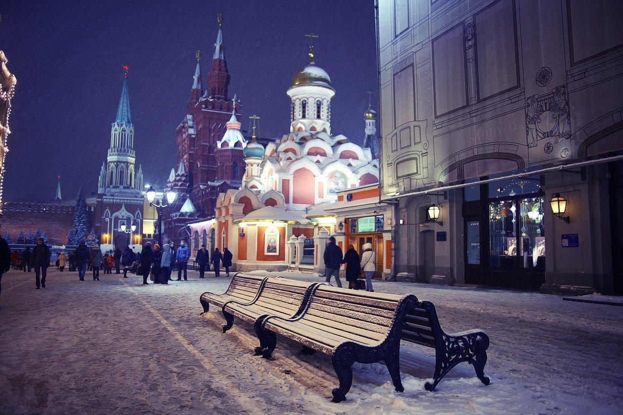 Ночь на13января стала самой морозной зазиму в столицеРФ
