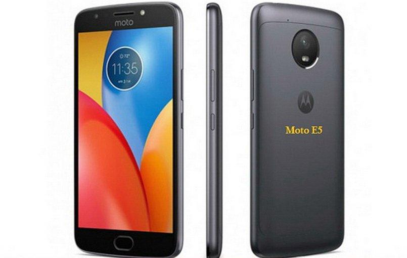 Винтернете появился тизер телефона Moto E5