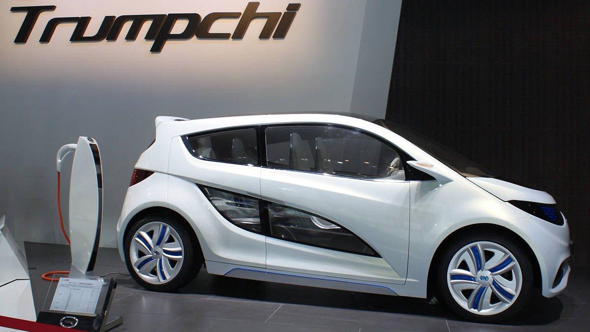 Китайский автопроизоводитель небудет использовать название Trumpchi вСША