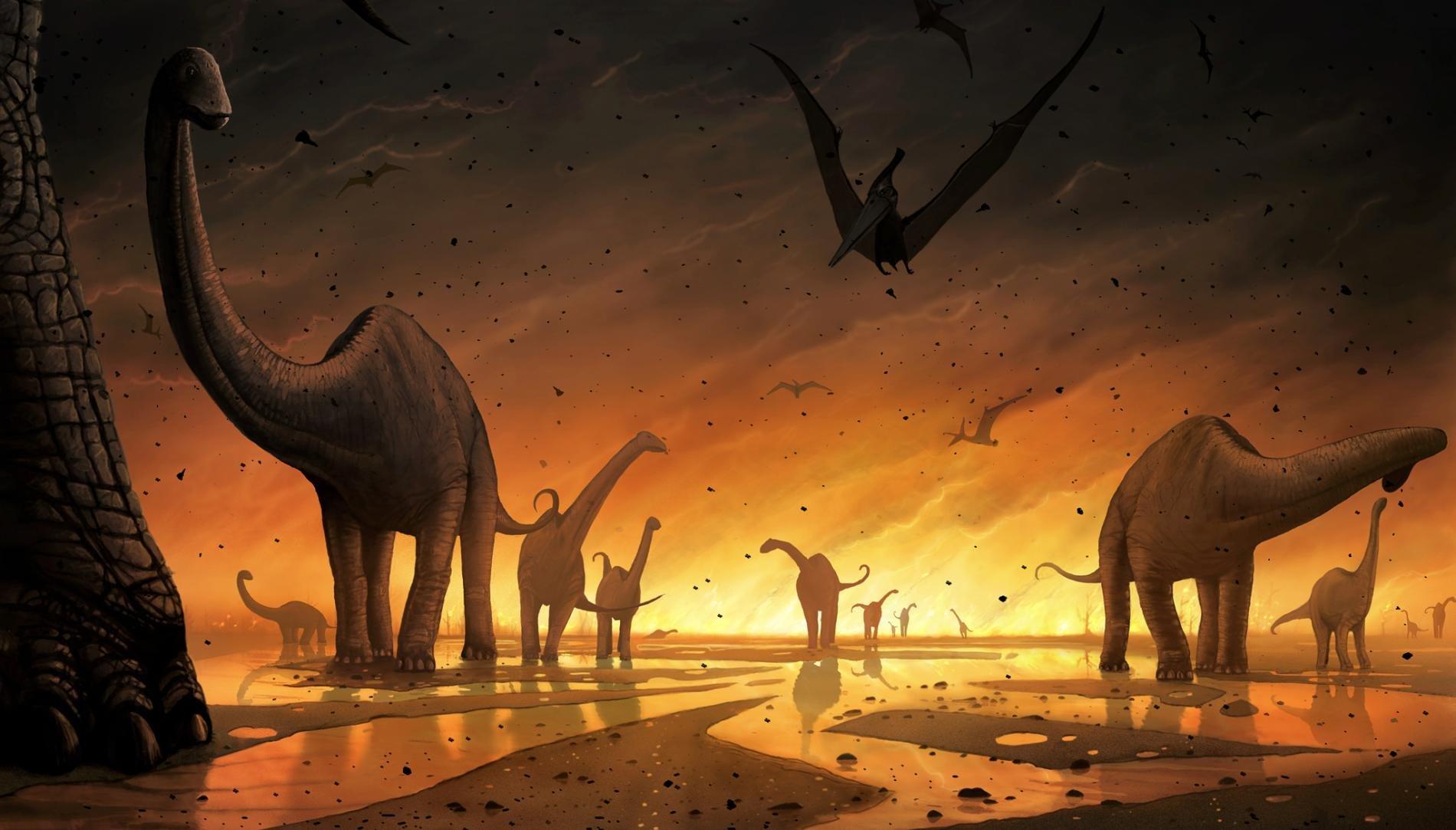Вымирание динозавров спровоцировано столкновением карликовых планет— Ученые