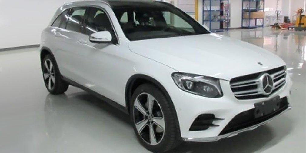 Вполку длинных SUV прибыло— в КНР собирают Mercedes GLC-L