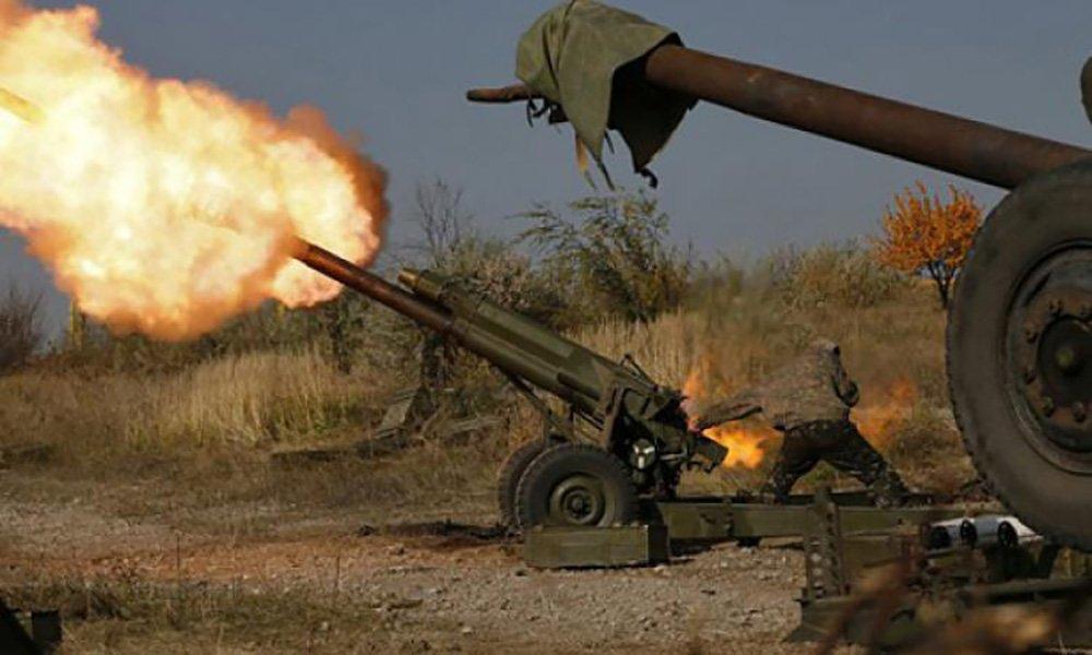 Появилось видео артиллерийского обстрела объектов ВСУ под Донецком