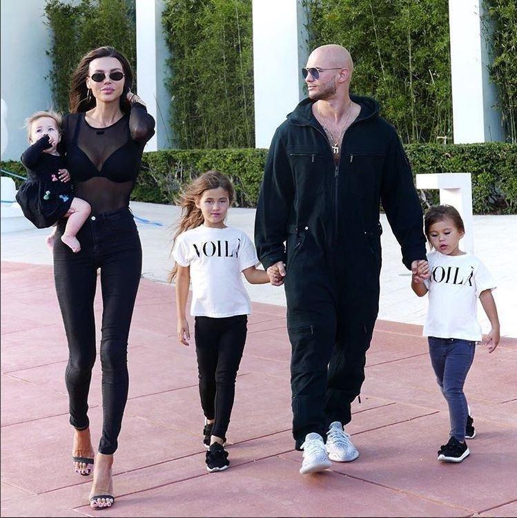 Фото жены джигана с детьми 33