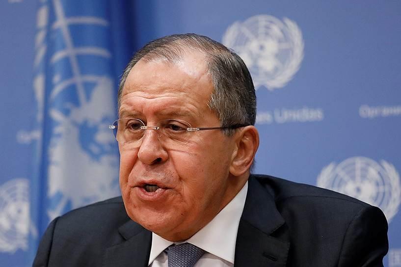 Лавров: РФтребует отреагировать надействия столицы Украины попритеснению УПЦ