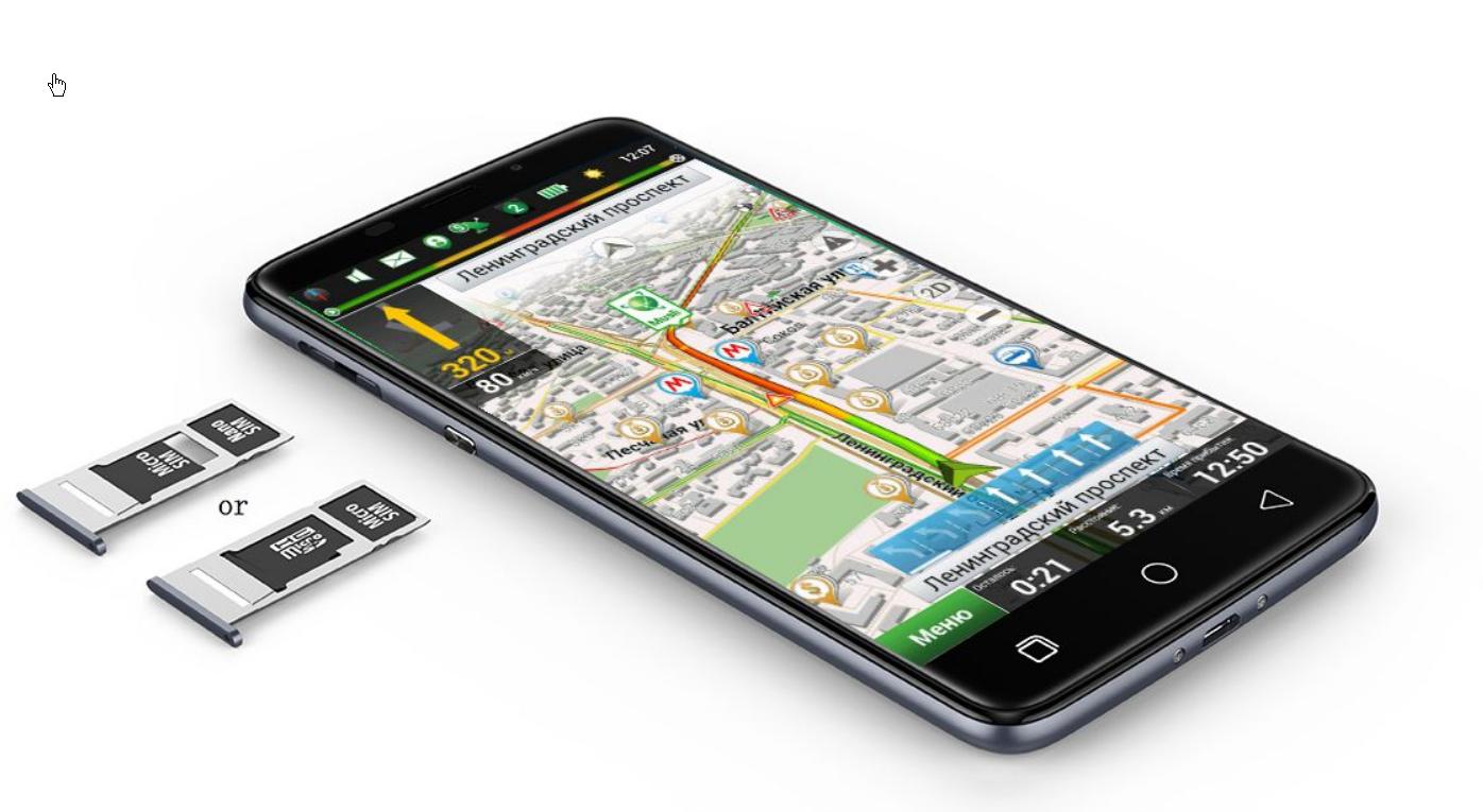 В РФ вскором времени появиться навигатор-смартфон GL-800S7 отGlobusGPS