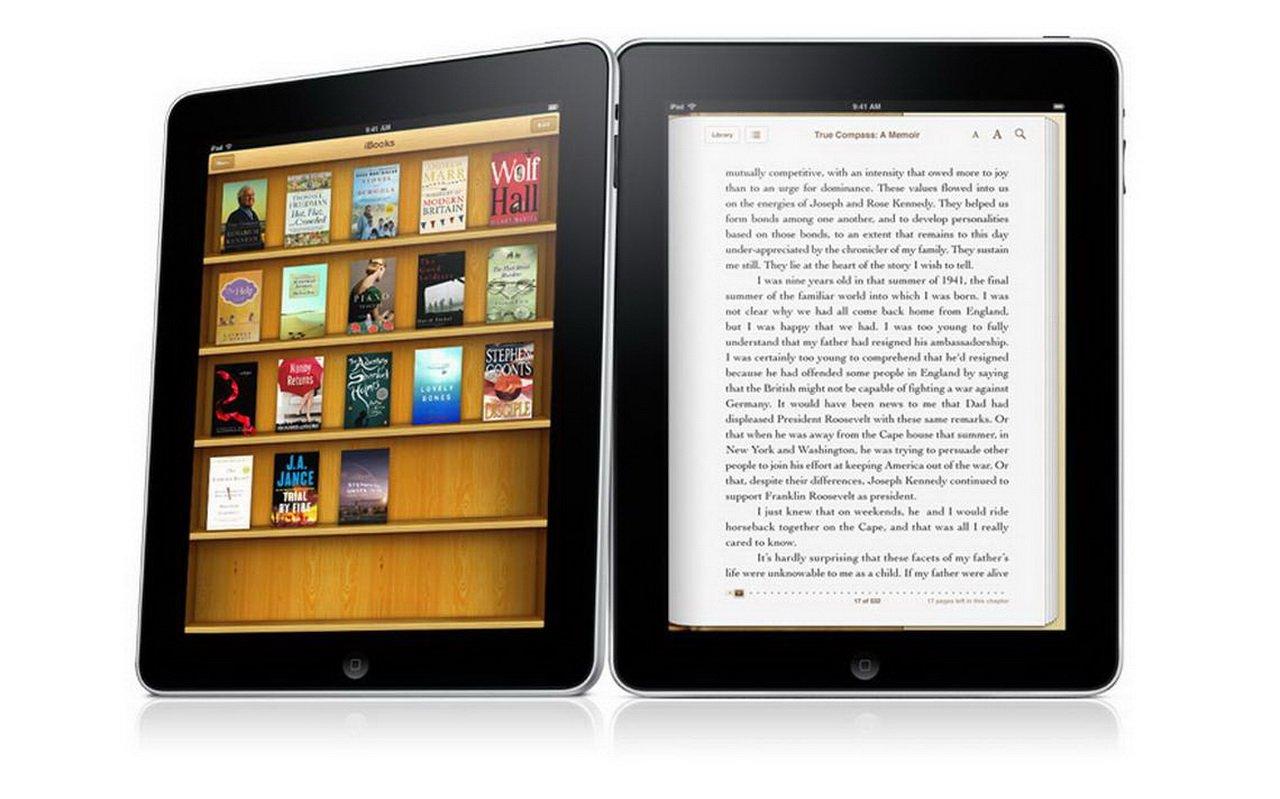 Apple работает над обновлением приложения для чтения электронных книжек