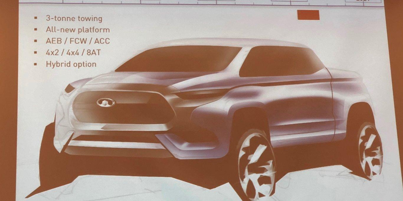 Бренд Haval выпустит пикап для конкуренции с Ford Ranger