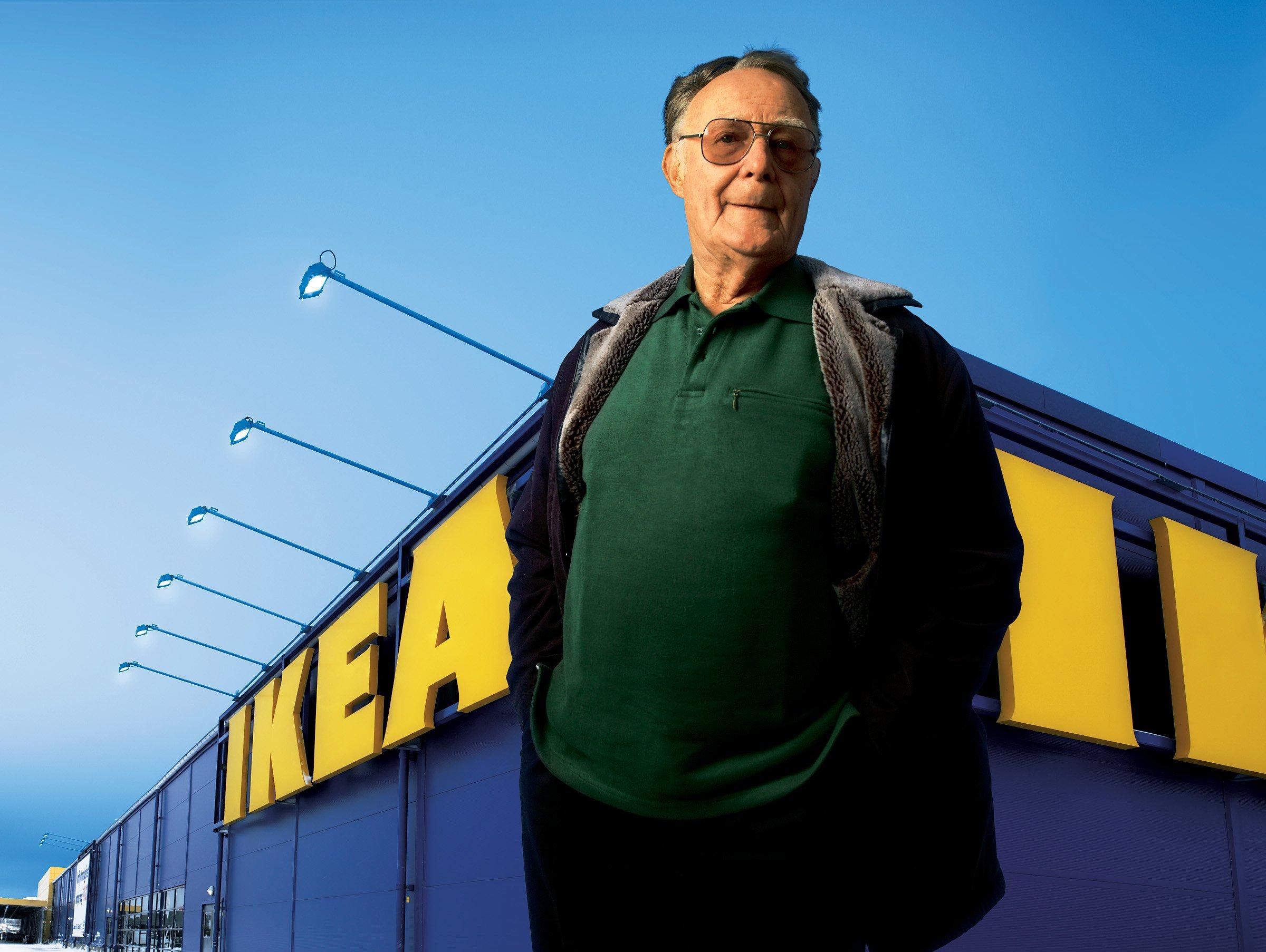 Основатель IKEA: Ушел изжизни самый богатый человек Швеции