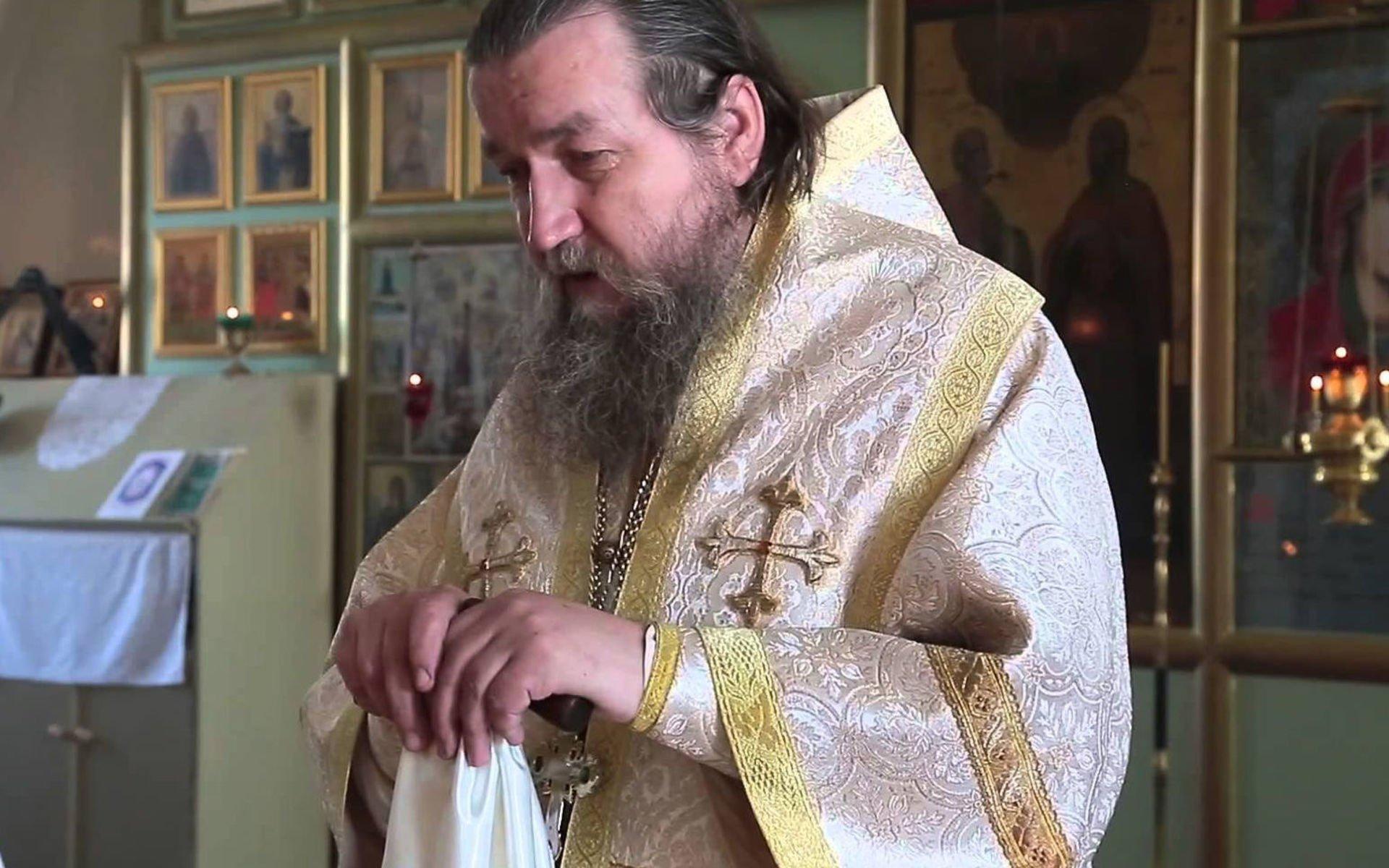 Картинки по запросу фото Настоятель Богоявленского собора города Ишима